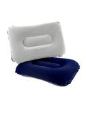 充氣枕 欣瑋戶外旅行充氣枕 頭加厚飛機便攜氣墊空氣睡枕午休枕靠墊腰枕小 晶彩生活