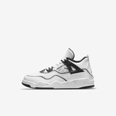 Nike Jordan 4 Retro Se Ps [DC4100-100] 中童鞋 運動 休閒 綁帶 保護 包覆 白