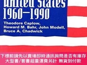 二手書博民逛書店Recent罕見Social Trends In The United States, 1960-1990Y2