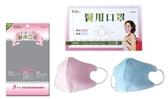 埃恩居 醫用口罩 H4168型-ING醫用口罩(成人3D)(粉紅色 5片/包.10包/盒)