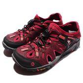 Merrell 戶外鞋 All Out Blaze Sieve 運動鞋 越野 登山 紫 黑 休閒鞋 涼拖鞋 女鞋【PUMP306】 ML37664