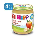 Hipp喜寶有 機蘋果香蕉泥 x6罐 450元