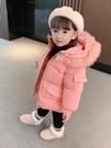 兒童棉服女 2021年新款4女童1棉衣2外套3歲棉襖洋氣女寶寶冬裝女孩羽絨棉服【快速出貨八折下殺】