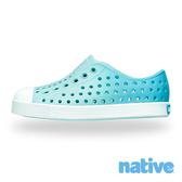 native 小童鞋 JEFFERSON 小奶油頭鞋-山麓藍x濕地藍