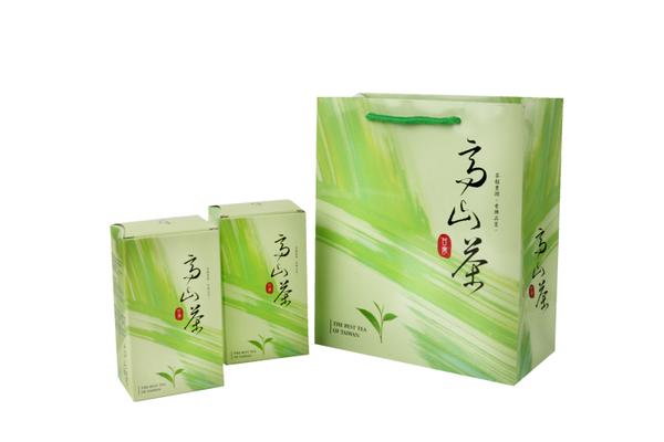 {高山茶}四兩茶葉提袋(50個/組) 提袋/茶葉提袋/台灣茶