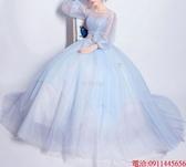 (45 Design)  7天到貨 新客製化顏色大尺碼訂做服8 婚紗禮服伴娘晚會主持人中長版蕾洋裝