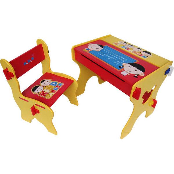 Kikimmy小博士畫板書桌椅組K020【德芳保健藥妝】體積過大,勿選萊爾富取貨