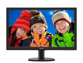 PHILIPS 243V5QHSBA 23.6吋(16:9 黑色) MVA液晶顯示器 三介面