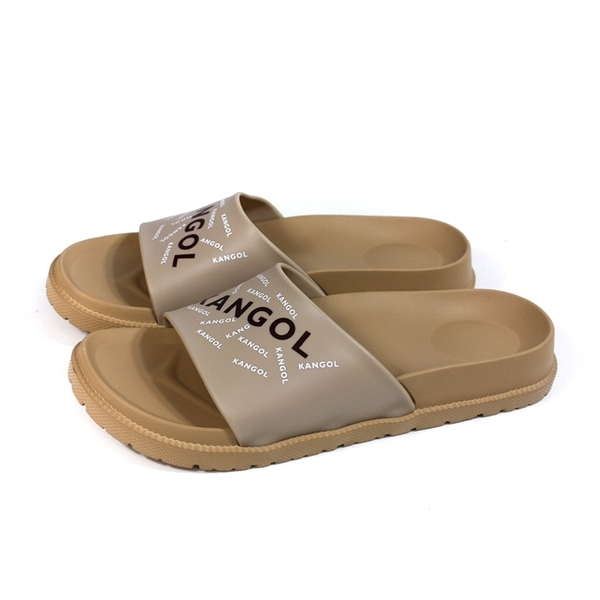 KANGOL 拖鞋 戶外 男鞋 卡其色 6125162131 no174
