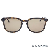 MONTBLANC 萬寶龍眼鏡 MB586SF 52J (琥珀) 休閒方框 太陽眼鏡 蔡司鏡片 久必大眼鏡