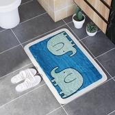 浴室地墊 洗手間浴室廁所進門腳墊子臥室門地毯卡通jy