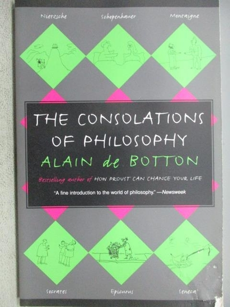 【書寶二手書T8/哲學_MOI】The Consolations of Philosophy_Alain De Bott