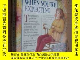 二手書博民逛書店(2002罕見擴增版)What to Expect When Y