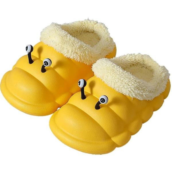兒童棉拖鞋秋冬1-3歲幼兒男女童中小童軟底居家室內防水防滑棉鞋 格蘭小鋪