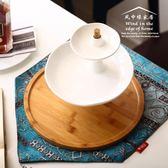 歐式雙層果盤蛋糕架創意果盤現代簡約客廳水果盤點心架甜品台串盤yi【販衣小築】