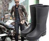 時尚中筒釣魚休閑雨靴水鞋套鞋下雨鞋膠鞋雨鞋男tz8339【3C環球數位館】
