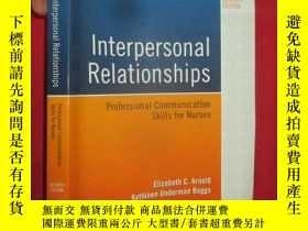 二手書博民逛書店Interpersonal罕見relationships : p