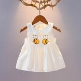 女童洋裝 女寶寶夏裝連衣裙夏01-3歲嬰兒裙子兒童夏季女童無袖嬰幼兒公主裙