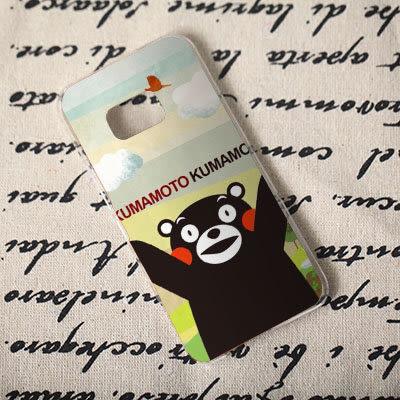[機殼喵喵] Samsung Galaxy Note 7 5 4 3 2 1 手機殼 外殼 客製化 水印工藝 306 九州熊 熊本熊