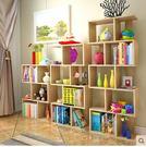 創意小書架落地置物架桌上書架櫃子現代簡約...