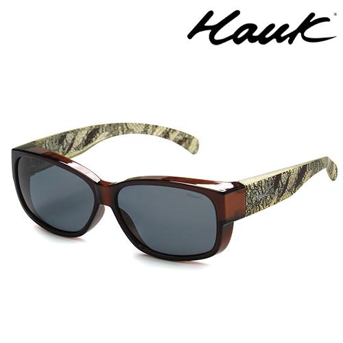 HAWK偏光太陽套鏡(眼鏡族專用)HK1004-83