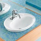 【麗室衛浴】美國KOHLER Serif 單孔上崁盆 K-2075X-1-0