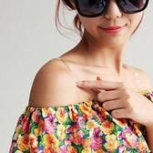 Qmishop 時尚美感 透明肩帶/胸罩肩帶/內衣肩帶 另有豹紋款【H026】
