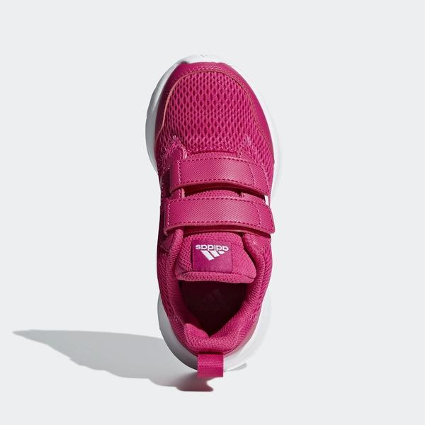 ADIDAS ALTARUN CF K [CG6895] 中童鞋 運動 休閒 跑步 透氣 網布 魔鬼氈 保護 粉紅