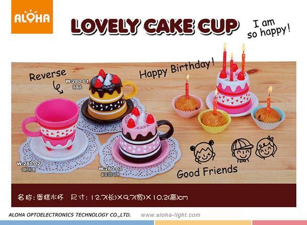 廣告杯 禮品製造 蛋糕水杯 (W-280)