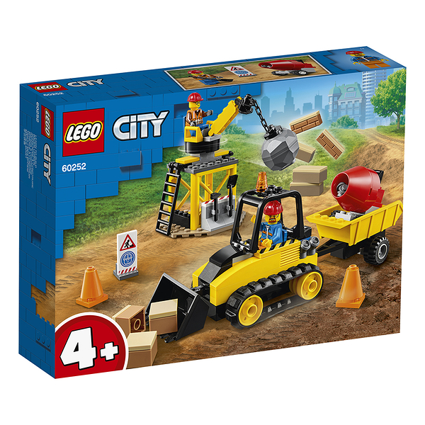 樂高積木 LEGO《 LT60252》City 城市系列 - Construction Bulldozer╭★ JOYBUS玩具百貨