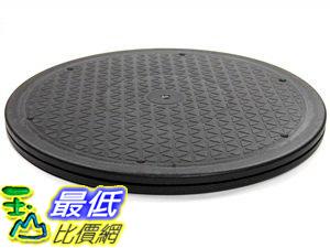 [106美國直購] Bluecell 12 Inch Heavy Duty Rotating Swivel Steel Ball Bearings Stand for Monitor/TV/Turntable/Lazy Susan