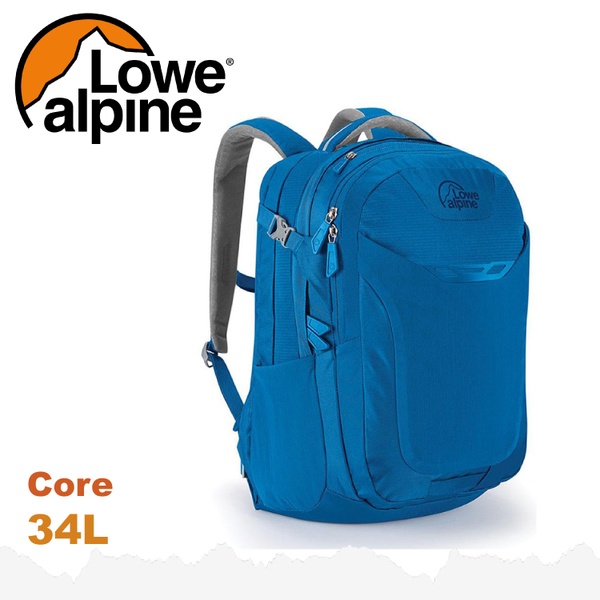 【 LOWE ALPINE 英國 Core 34 休閒後背包《海洋藍》34L】FDP-44/雙肩背包/電腦包/登山包★滿額送