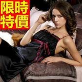 睡衣-率性簡約桑蠶絲真絲質裙裝女居家服57s38[時尚巴黎]