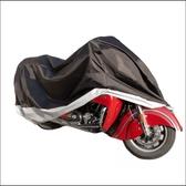 機車雨衣 摩托車加厚車衣遮陽蓋防雨布加大號防塵重機車跑車大排量車罩通用(快速出貨)