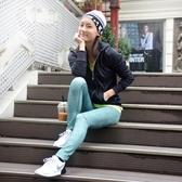 運動緊身褲-加絨保暖瑜珈彈力女壓力褲3色73es10[時尚巴黎]