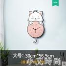卡通掛鐘客廳家用創意可愛兒童房鐘表臥室書房靜音時鐘時尚掛牆表 NMS小艾新品