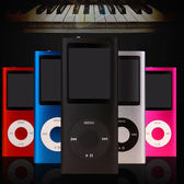 mp3 mp4播放器 送硅膠保護套 耳機 有屏迷你音樂學生MP3運動跑步隨身聽有屏mp4錄音筆【萊爾富免運】