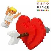 【日本 Kawada 河田】Nanoblock 迷你積木 LOVE愛神的箭 ML-027
