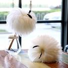 雞毛撣子家用除塵撣除塵神器灰塵刷白色公雞毛裝飾撣子