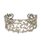 Tiffany & Co 蒂芬妮 Paloma Picasso系列 橄欖葉925純銀手環 Olive Leaf Cuff