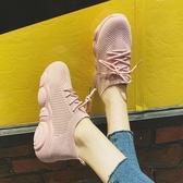 小白鞋 老爹鞋女鞋春秋季款新款潮小白鞋ins超火跑步小熊網紅運動鞋