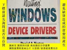 二手書博民逛書店Writing罕見Windows Device Drivers(編寫widows設備驅動程序)沒勾畫Y6318