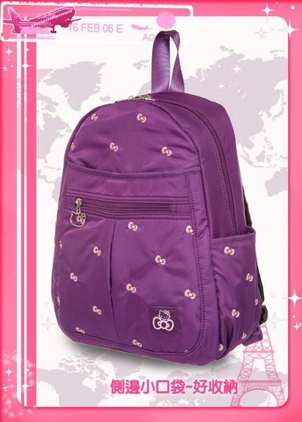 Hello Kitty-逸緻之旅-後背包(小)-2色KT00B08
