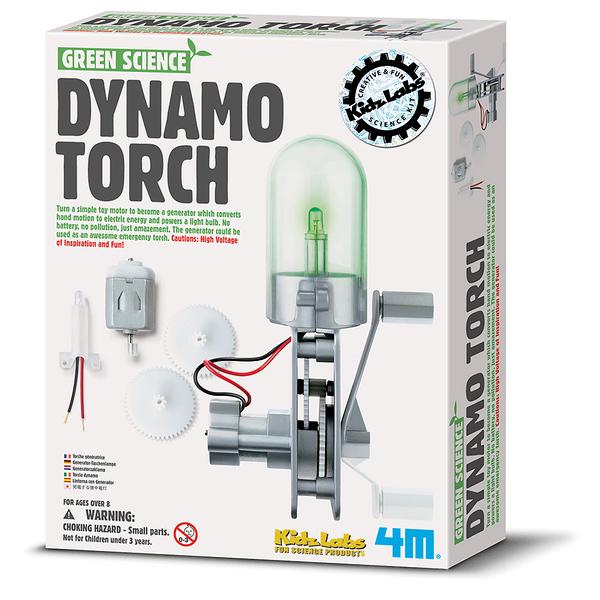 【4M】科學探索系列 - 神奇發電機 Dynamo Torch 00-03263