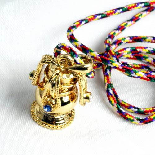 【藏傳佛教文物】吉祥寶瓶項鍊(可裝藏)-(PBN45)