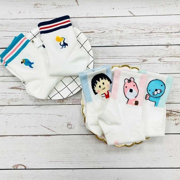 韓國襪子 女襪 可愛襪子 大嘴鳥 鸚鵡 海豹 丸子 粉紅馬 長襪