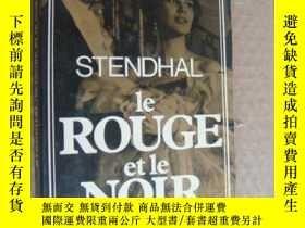 二手書博民逛書店Le罕見Rouge et le Noir (Préface d