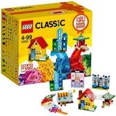 積木經典創意系列10703拼砌師創意箱Classic積木玩具xw
