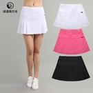 高爾夫裙 高爾夫球衣服裝女裝短裙夏速干高彈運動球裙子顯瘦防走光半身裙褲-Ballet朵朵