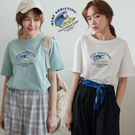 現貨-MIUSTAR 海上衝浪狗棉質上衣(共3色)【NJ1660】